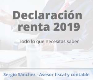 Declaracion renta 2019