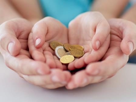 Donación de dinero